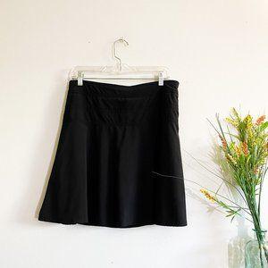 ATHLETA Black Athletic Tennis Workout Skirt 10